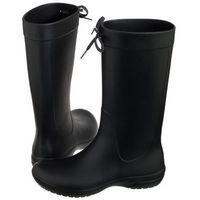 Kalosze Crocs Freesail Rain Boot Black 203541-001 (CR156-a), kolor czarny