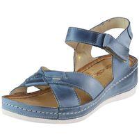 Sandały 0473 - jeans, Wasak