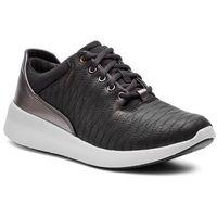 Clarks Sneakersy - un alfresco lo 261357194 black leather