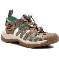 Sandały - whisper 1016577 shitake/malachite marki Keen