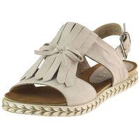 Sandały Nessi 18370 - Beżowe 32