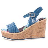 U.S. POLO ASSN. sandały damskie Ruby 37 niebieski, kolor niebieski
