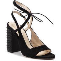 Sandały BALDOWSKI - D02419-0219-003 Zamsz Czarny, w 5 rozmiarach