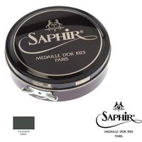 Saphir medaille d'or 14 - szary / grey pasta/wosk do obuwia - 50 ml,