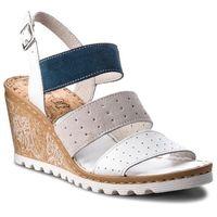 Sandały - h683 biały marki Lasocki