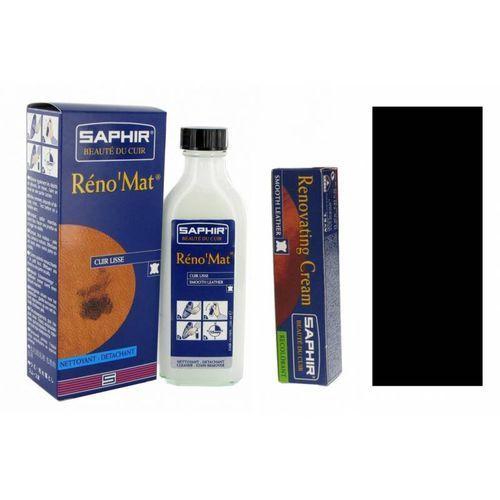 Zestaw do renowacji kierownicy renovating cream + renomat saphir czarny