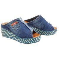 LANQIER 42C266 jeans, klapki damskie