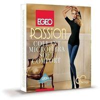 Rajstopy Egeo Passion Soft Comfort 60 den 5-XL 5-XL, szary/antracite. Egeo, 5-XL