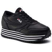 Sneakersy FILA - Orbit Zeppa Stripe Wmn 1010667,11W Black/Stripe, w 2 rozmiarach