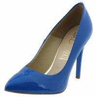 Czółenka Sala 7066 - Niebieskie 753, kolor niebieski