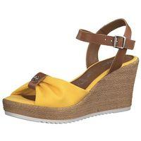 TAMARIS Sandały brązowy / żółty, w 6 rozmiarach