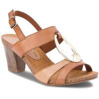 Sandały CAPRICE - 9-28307-20 Camel/Sand 357, kolor brązowy