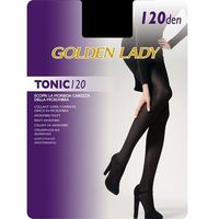 Golden lady Rajstopy tonic 120 den rozmiar: 5-xl, kolor: czarny/nero, golden lady