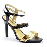 Sandały but0290-m20 czarny marki Monnari