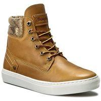 Sneakersy WRANGLER - Historic WL162560 Tan Yellow 24, kolor brązowy