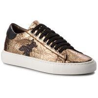 Sneakersy PATRIZIA PEPE - 2V7044/A4N5-Y340 Shiny Dark Gold, kolor żółty