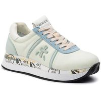 Sneakersy PREMIATA - Conny 4030 Light Blue, kolor zielony