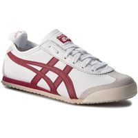 Asics Sneakersy - onitsuka tuger mexico 66 d4j2l white/burgundy 0125