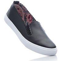 Buty wsuwane bonprix czarny, w 8 rozmiarach
