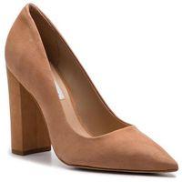 Półbuty - prance heel sm11000320-03003-300 camel nubuck marki Steve madden