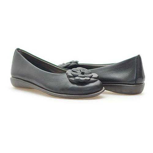 Baleriny Flexx A103/04 Czarne, kolor czarny