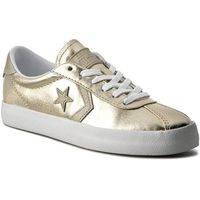 Sneakersy CONVERSE - Breakpoint Ox 555948C Light Gold/White/White, w 3 rozmiarach