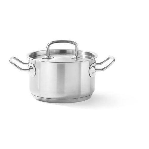 Hendi Garnek średni z pokrywką o średnicy 160 mm, 1,7 l   , kitchen line
