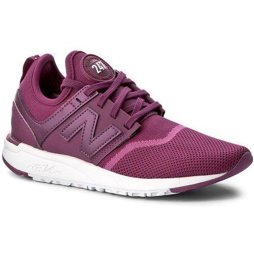 New balance Sneakersy - wrl247eb fioletowy