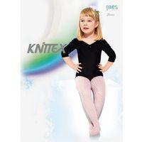 Rajstopy ines 20 den 140-146, biały, knittex, Knittex