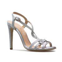 Sandały 005500-e srebrne lico, Baldaccini