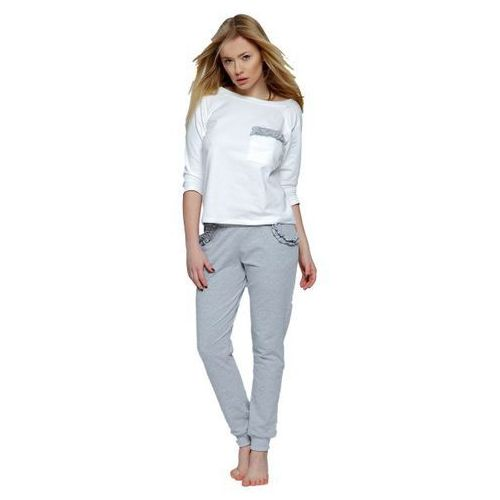 angel dres biało-szara piżama damska, Sensis