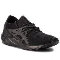 Sneakersy - tiger gel-kayano trainer knit h705n black/black 9090 marki Asics