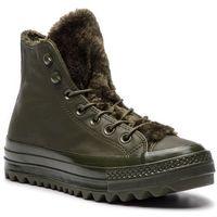 Sneakersy - ctas lift ripple hi 562425c utility green/utility green marki Converse
