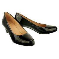 22300-27 black patent, czółenka damskie marki Caprice