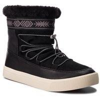 Botki - alpine 10012424 black leather/suede/faux, Toms, 36.5-41