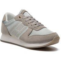 Tommy hilfiger Sneakersy - sparkle satin city sneaker fw0fw03991 diamond grey 001