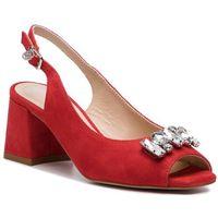 Sandały SOLO FEMME - 52218-13-G13/000-07-00 Czerwony, kolor czerwony