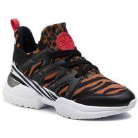Sneakersy - baileen fl7bai esu12 leopard marki Guess