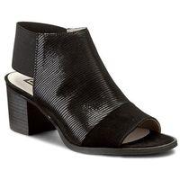Sandały NESSI - 80706 Czarny Lizaro/Czarny, w 4 rozmiarach