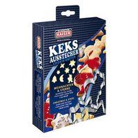 Kaiser xmas foremki, wykrawacze do ciastek boże narodzenie 8 sztuk zestaw nr 2 marki Kaiser / x-mas kolekcje świąteczne