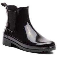 Kalosze HUNTER - Org Refined Chelsea Gloss WFS1017RGL Black, 1 rozmiar