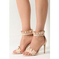 Beżowe Sandały Grace Of Heaven, w 6 rozmiarach