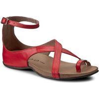 Sandały NESSI - 19210 Koral 3, kolor czerwony