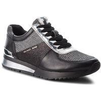 Sneakersy MICHAEL MICHAEL KORS - Allie Wrap Trainer 43T8ALFS2D Blk/Silver, 1 rozmiar