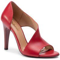Sandały - 0720 czerwony lico marki R.polański