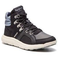Pepe jeans Sneakersy - hyke w camu pls30761 black 999