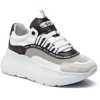 Sneakersy BRONX - 66265-CM BX 1585 White/Black 204, kolor biały
