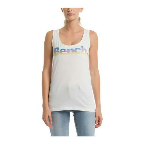 podkoszulka BENCH - Corp Logo Tank Top Snow White (WH11210) rozmiar: XS, kolor biały