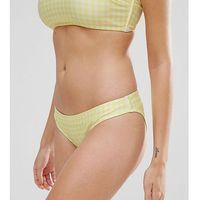 gingham hipster bikini bottom - multi, Peek & beau