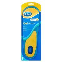 Scholl 2szt gel activ wkładki do codziennego obuwia męskie rozmiar 40-46